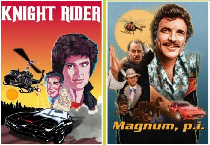 Phim anh hùng hành động trên HITS: Hiệp sĩ đường phố và Thám tử tư Magnum