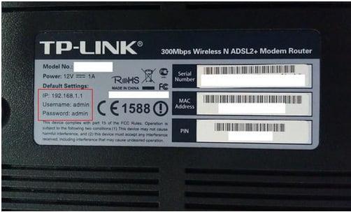 Đối với nhiều loại router pass có thể thay đổi, chúng ta có thể xem ở dưới của router