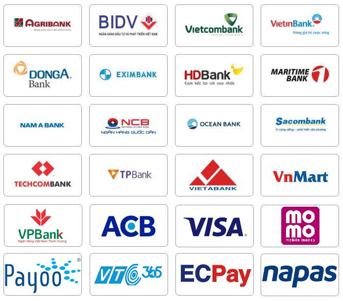 Thanh toán cước trực tuyến qua tài khoản ngân hàng