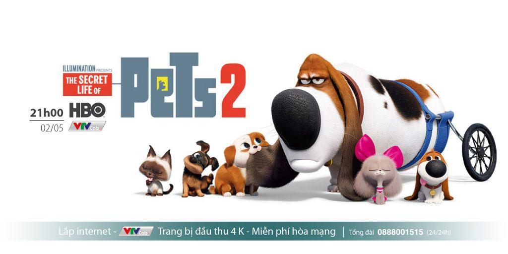 The Secret Life of Pets 2  - Đời sống bí mật của thú cưng P2 (phát sóng: 21h, 02/05/ HBO)