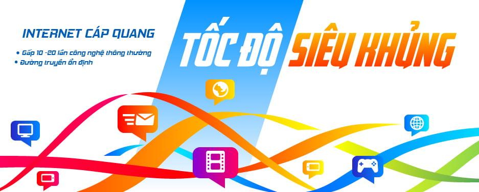 Gói cước  internet cáp quang của VTVCab thoại sơn