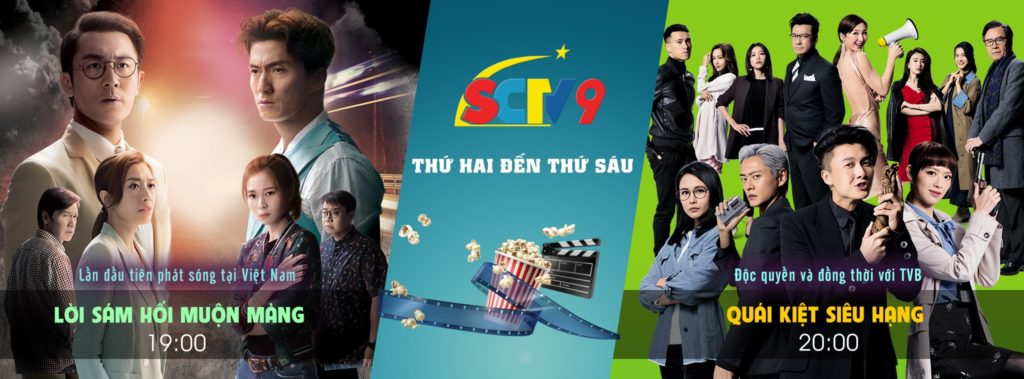 SCTV9 - Kênh phim Hồng Kông TVB trên VTVCab